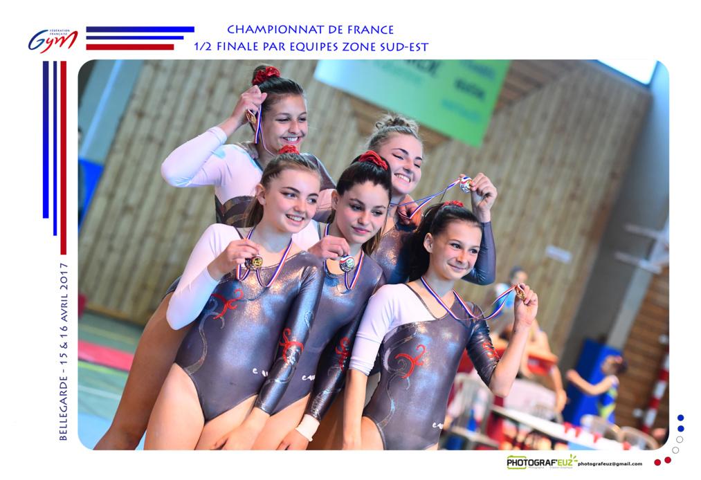 GAF-GAM - Palmarès du championnat ZONE par Equipes - BELLEGARDE