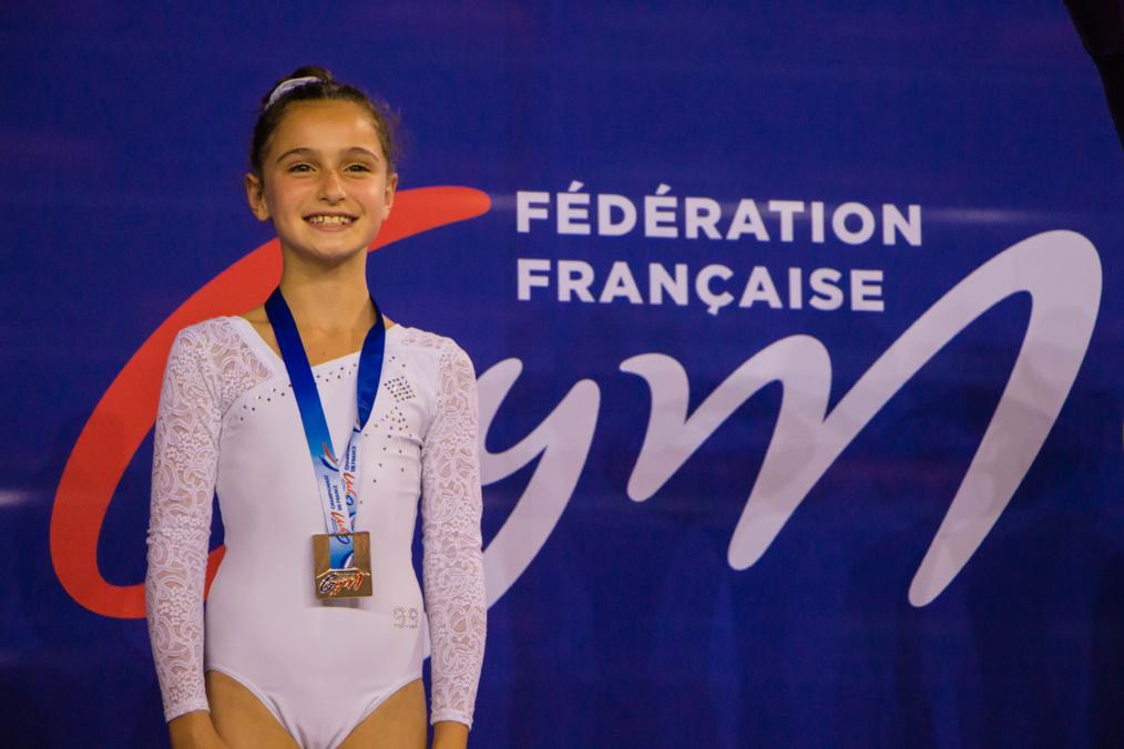 TRAMPOLINE - Ornella BIGAND  Vice-Championne de France