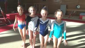 CPID pour 4 des plus jeunes gymnastes du département à JASSANS