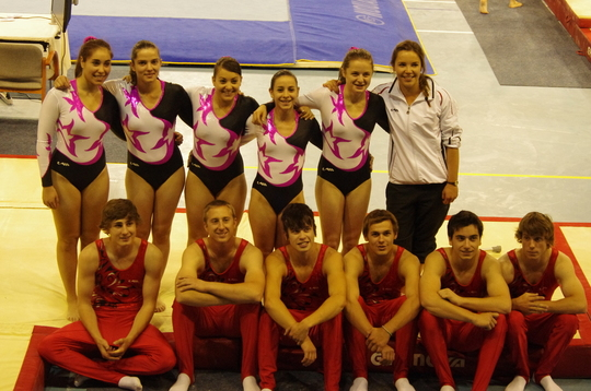 Dans la presse By Annecy Infosports 23 mai 2012 Les gymnastes anneciens de retour des Finales Nationales