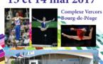 Palmarès de la compétition de BOURG DE PÉAGE du 13/05/2017 au 14/05/2017