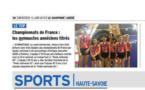 Article de presse DAUPHINE LIBERE