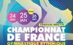 GR - Palmarès Championnat de France Individuel et Trophée - Reims 24, 25 et 26 janvier 2020.
