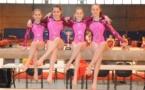 3ème place pour l'équipe fémine de l'EDGAA Publier en Gymnastique artistique à St Etienne