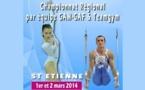 Compétitions régionales gymnastique artistique et team gym Rhone Alpes