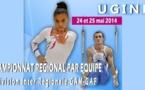 PALMARES championnat regional EQ division Inter regionale GAM/GAF 24 et 25 mai 2014 à Ugine